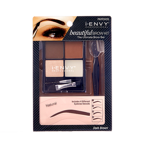 KISS i-ENVY Professional Beautiful Brow Kit (PKPEK05)