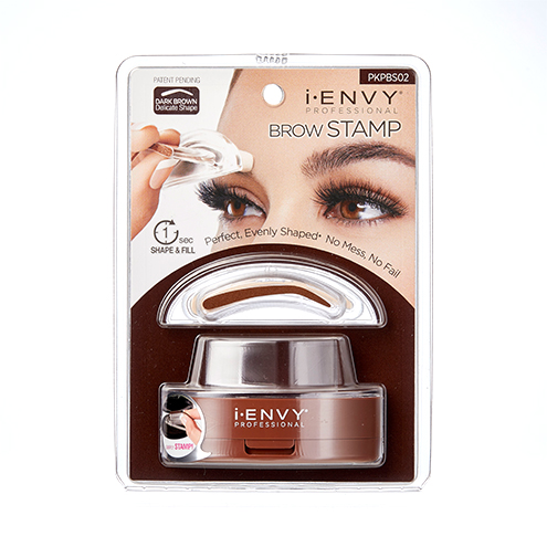 KISS i-ENVY Professional Brow Stamp Kit Dark Brown (PKPBS02)