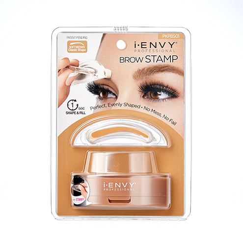 KISS i-ENVY Professional Brow Stamp Kit Soft Brown (PKPBS01)