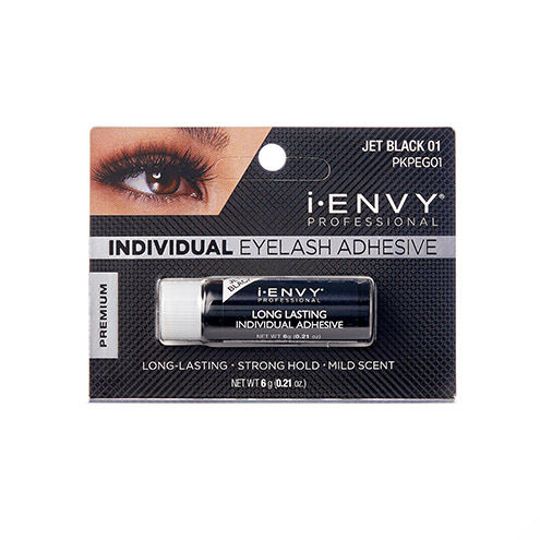 KISS i-ENVY Professional Individual Eyelash Adhesive Black (PKPEG01)
