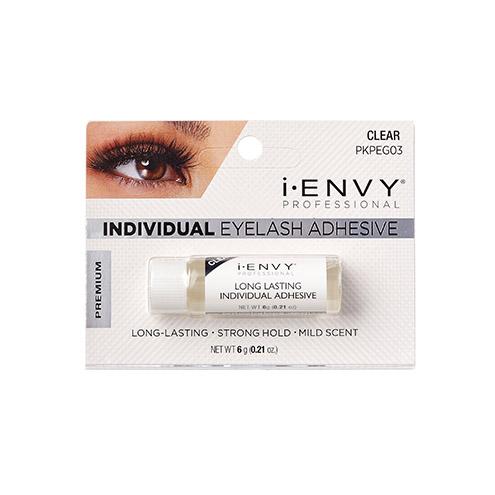 KISS i-ENVY Professional  Individual Eyelash Adhesive Clear (PKPEG03)