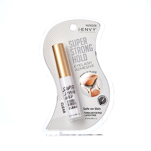 KISS i-ENVY Professional  Super Strong Hold Eyelash Adhesive Clear (PKPEG06)